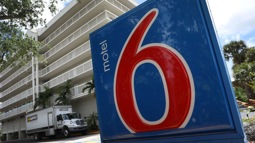 A Motel 6 is seen on April 08, 2019 in Cutler Bay, United States. Motel 6 has agreed to pay a $12 million settlement after the state of Washington sued the chain for providing customer information to U.S. Immigration and Customs Enforcement agents. (Photo by Joe Raedle/Getty Images)