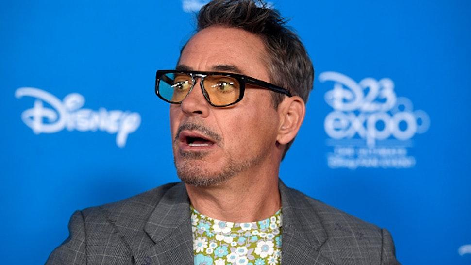 ANAHEIM, CALIFORNIA - AUGUST 23: Robert Downey Jr. attends D23 Disney Legends event at Anaheim Convention Center on August 23, 2019 in Anaheim, California.