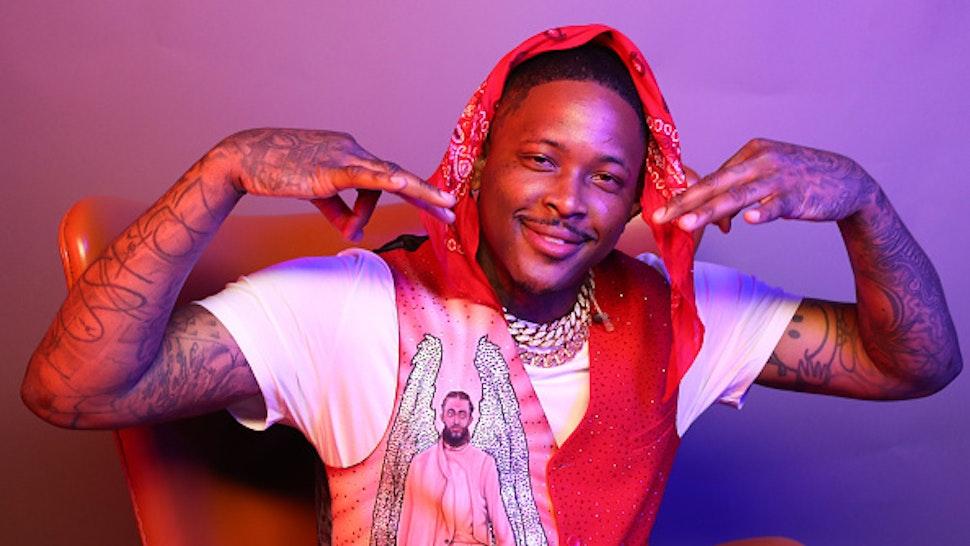 LOS ANGELES, CALIFORNIA - JUNE 23: YG poses for a portrait during the BET Awards 2019 at Microsoft Theater on June 23, 2019 in Los Angeles, California.