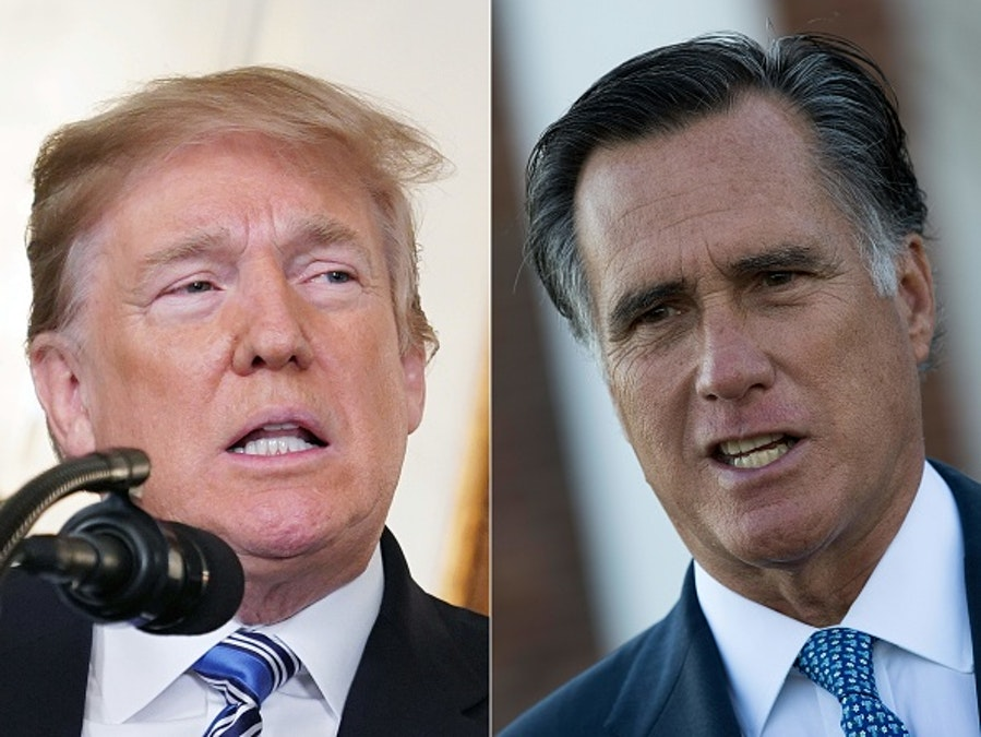 Trump: Romney Is A 'Pompous A**'