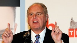 Radio talk show host and conservative commentator Rush Limbaugh, one of the judges for the 2010 Miss America Pageant, speaks during a news conference for judges at the Planet Hollywood Resort & Casino January 27, 2010 in Las Vegas, Nevada.