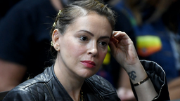 Actress Alyssa Milano attends the 2020 Gun Safety Forum hosted by gun control activist groups Giffords and March for Our Lives at Enclave on October 2, 2019 in Las Vegas, Nevada.