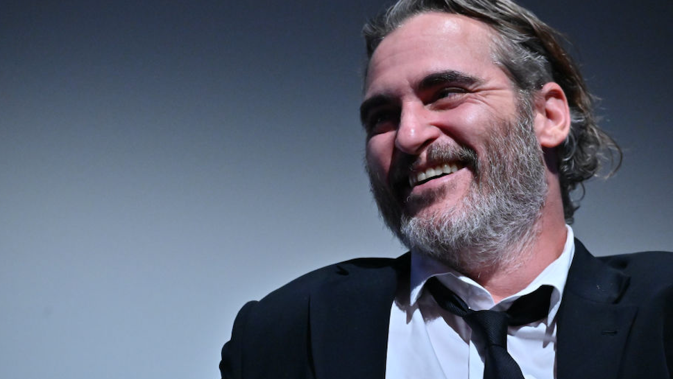 "Joaquin Phoenix attends the 57th New York Film Festival - ""Joker"" Intro and Q&A at Alice Tully Hall, Lincoln Center on October 02, 2019 in New York City."