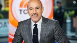 TODAY -- Pictured: Matt Lauer on Wednesday, November 8, 2017