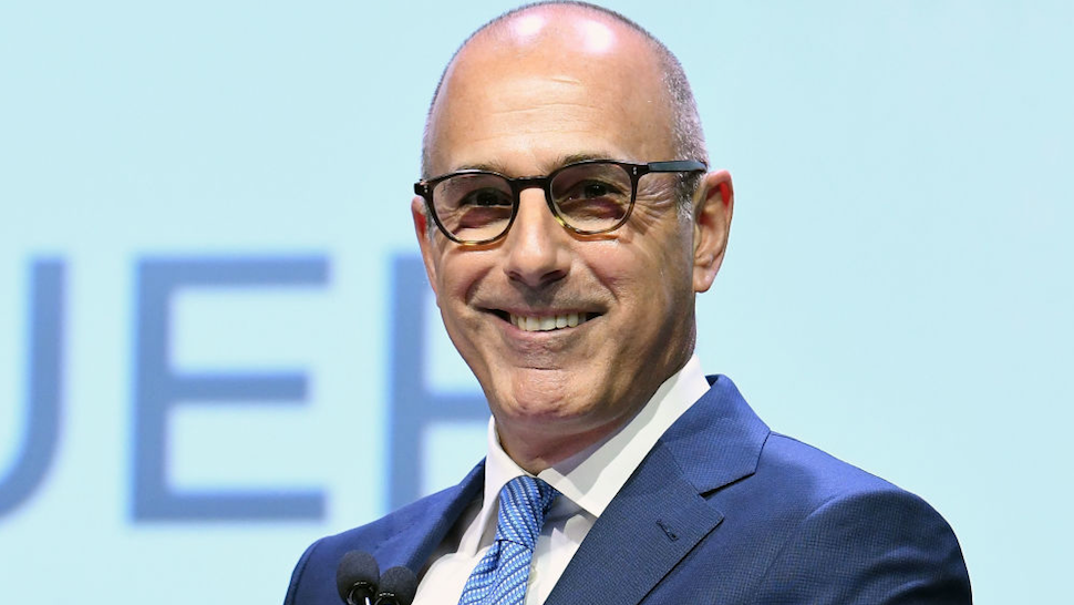 Matt Lauer attends 2017 Matrix Awards at Sheraton New York Times Square on April 24, 2017 in New York City.