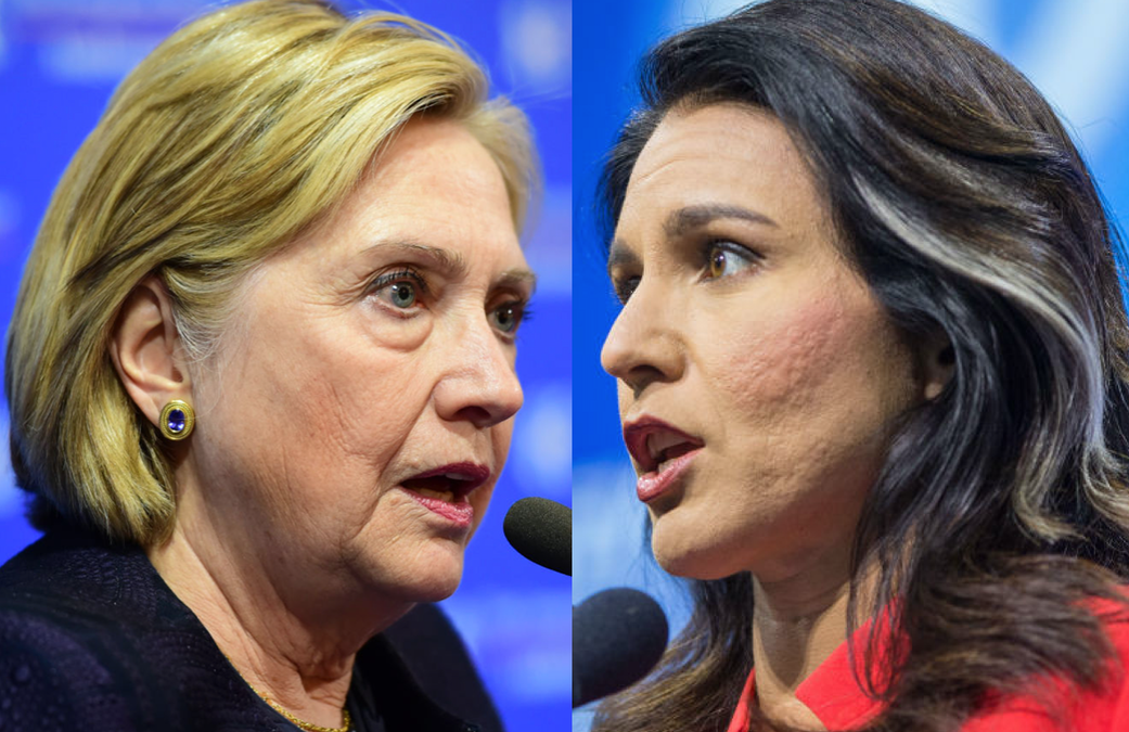 Hillary Clinton: Tulsi Gabbard A 'Russian Asset' Being Groomed For Third-Party Run