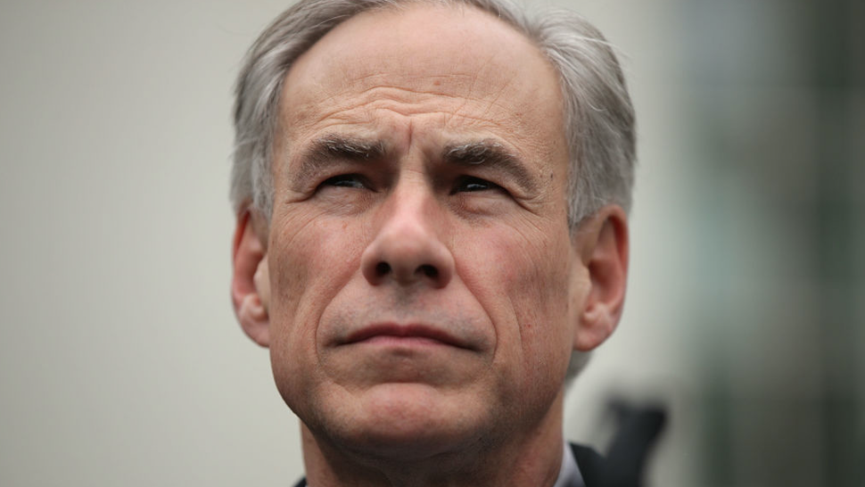 Texas Governor Greg Abbott participates in a news briefing outside the West Wing after an Oval Office announcement with President Trump March 24, 2017 at the White House in Washington, DC. Charter Communications announced that the company is opening a call center in McAllen, Texas, creating 600 jobs.