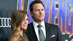 "Katherine Schwarzenegger and Chris Pratt attend the world premiere of Walt Disney Studios Motion Pictures ""Avengers: Endgame"" at the Los Angeles Convention Center on April 22, 2019 in Los Angeles, California."