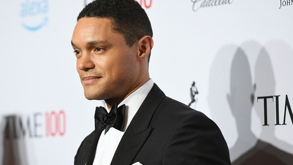 NEW YORK, NEW YORK - APRIL 23: Trevor Noah attends the TIME 100 Gala 2019 Lobby Arrivals at Jazz at Lincoln Center on April 23, 2019 in New York City.
