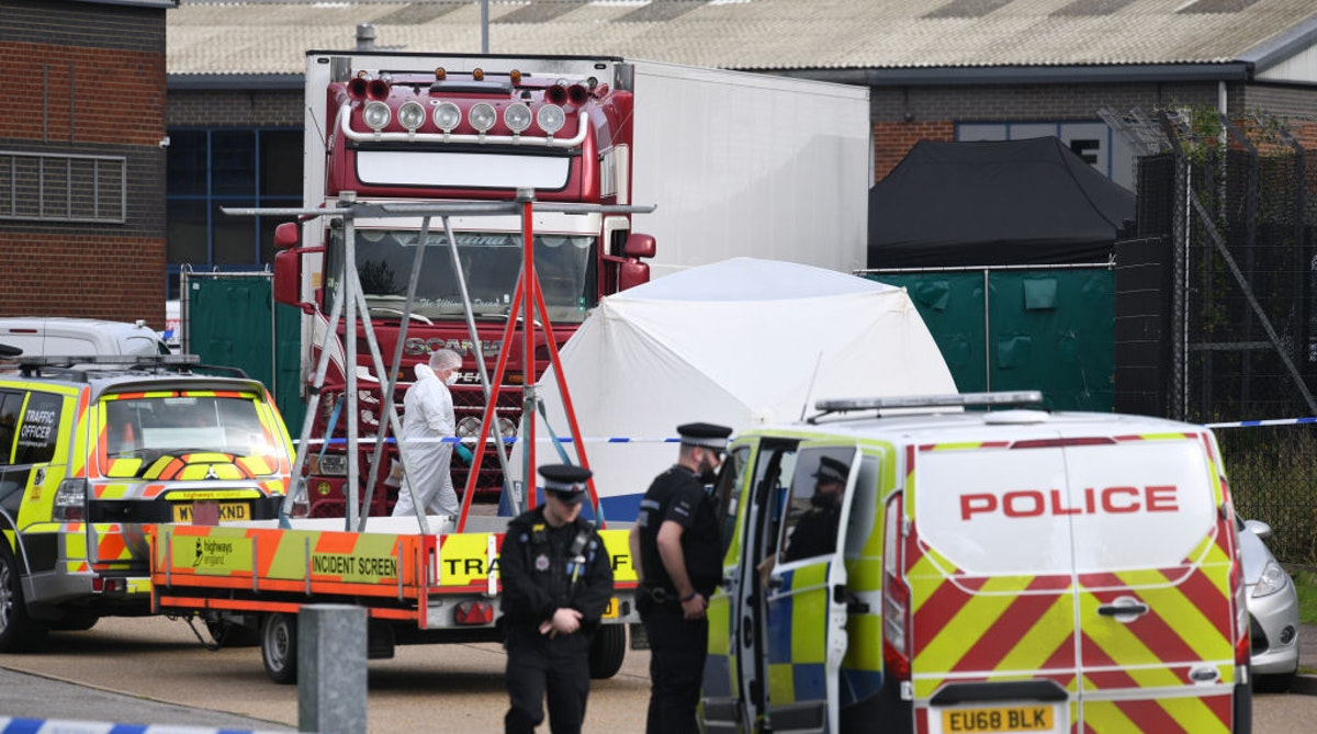 'Unimaginable': 39 Bodies Found In Truck In UK, Arrest Made, Mass Murder Probe Launched