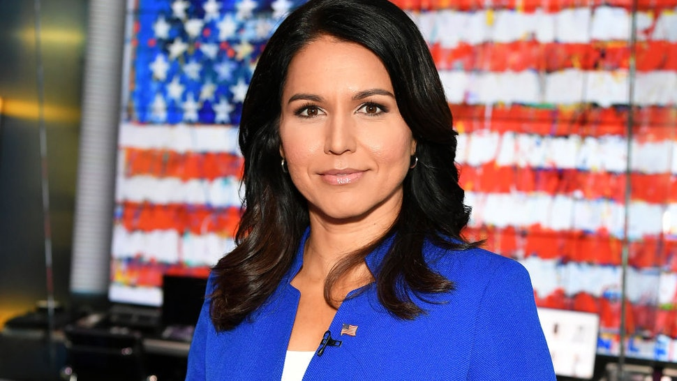 "Tulsi Gabbard visits ""FOX & Friends"" at Fox News Channel Studios"