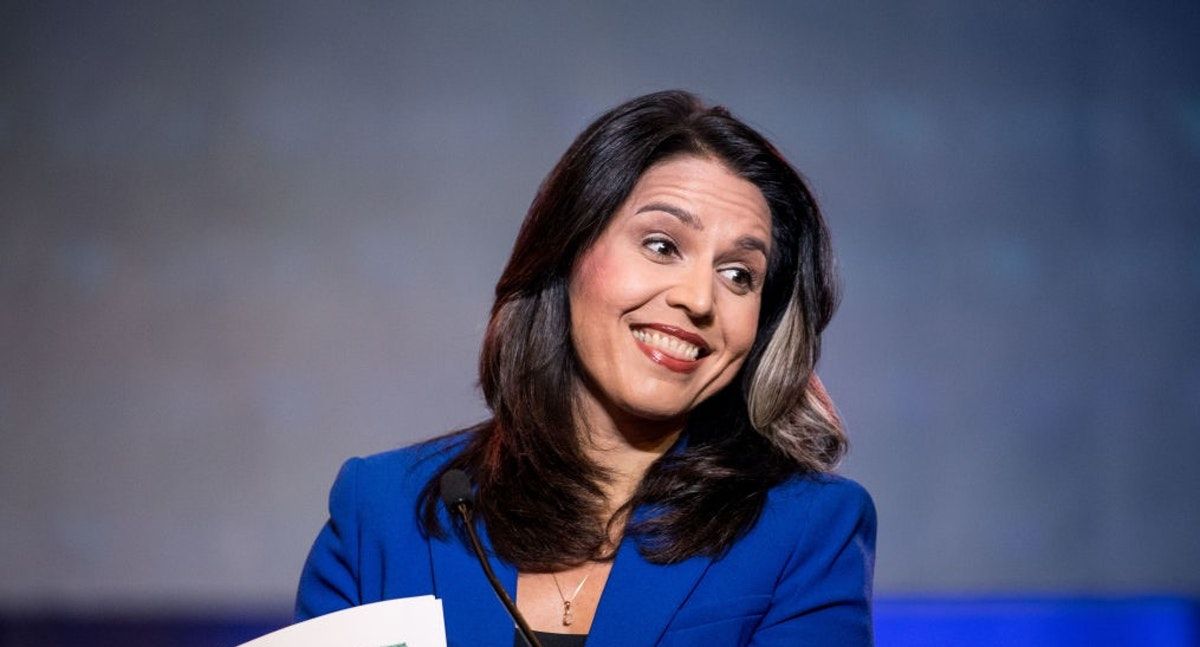 CHICKEN: Hillary Clinton Bails Out Of D.C. Event That Tulsi Gabbard Is Attending