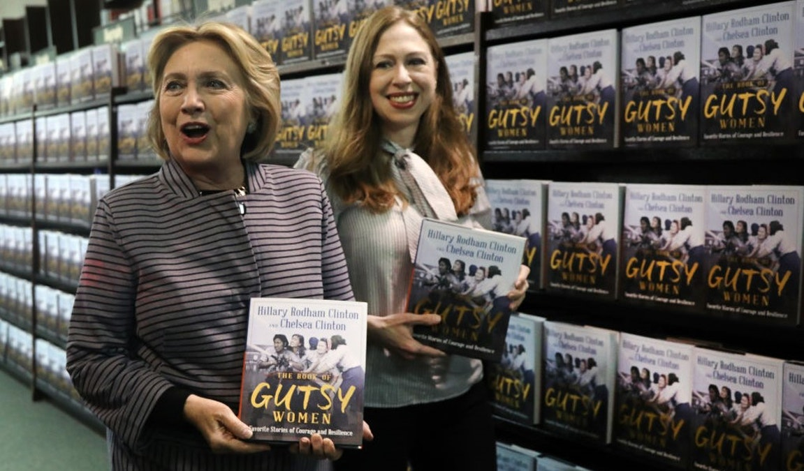 Hillary, Chelsea Clinton Have Awkward Moment Over Whether A Person With A Beard And A Penis Can Identify As A Woman