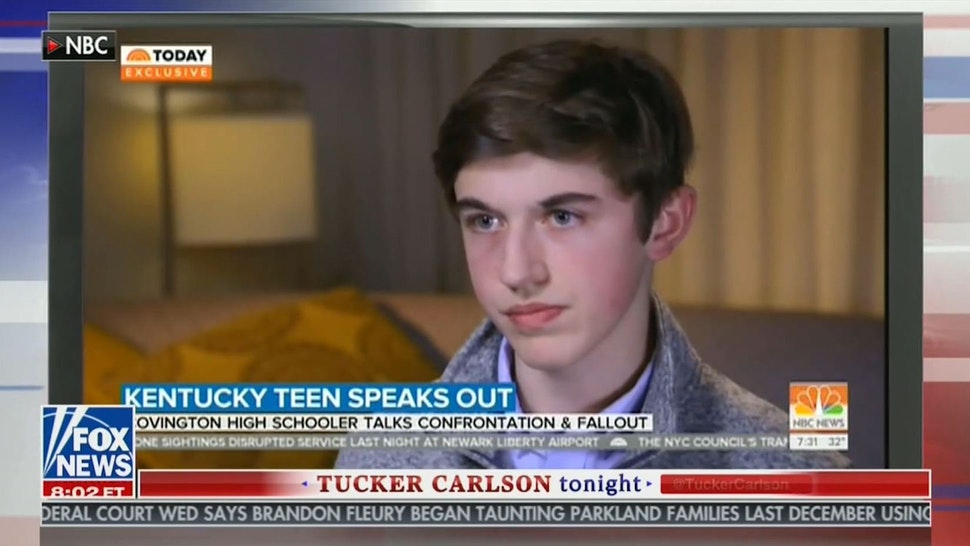 Covington Catholic Student Nick Sandmann