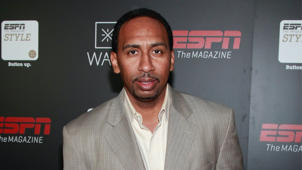 TV personality Stephen A. Smith attends the Dwyane Wade Book Launch Celebration With ESPN The Magazine at Jazz at Lincoln Center on September 4, 2012 in New York City.