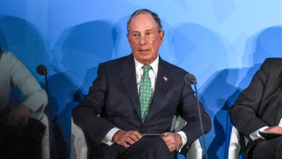 U.N. Special Envoy for Climate Action Michael Bloomberg speaks at the Climate Action Summit at the United Nations on September 23, 2019 in New York City.
