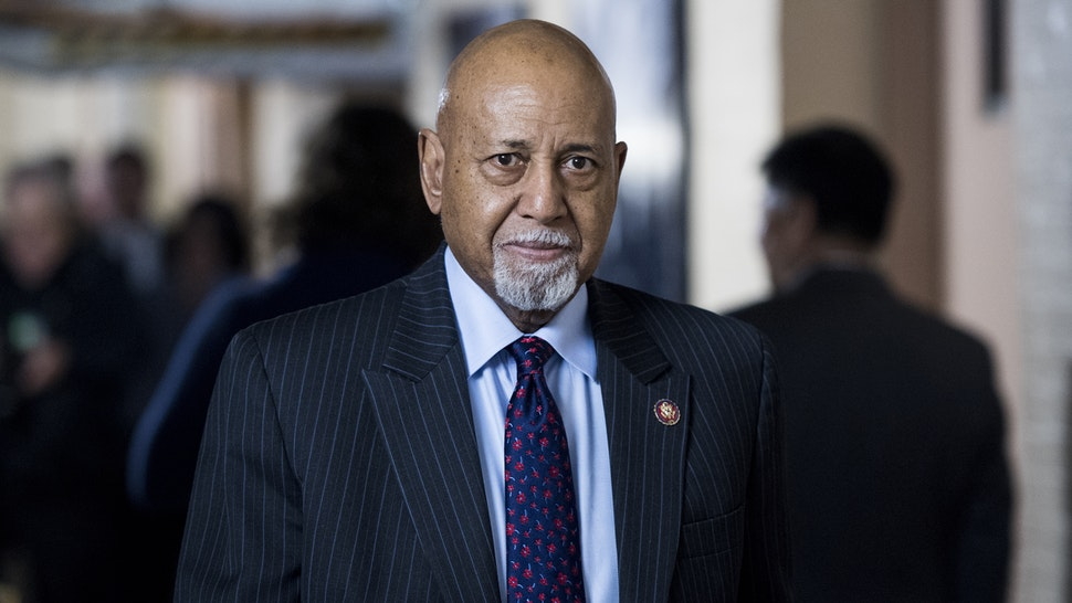 UNITED STATES - JANUARY 4: Rep. Alcee Hastings, D-Fla., leaves the House Democrats' caucus meeting in the Capitol on Friday, Jan. 4, 2019.