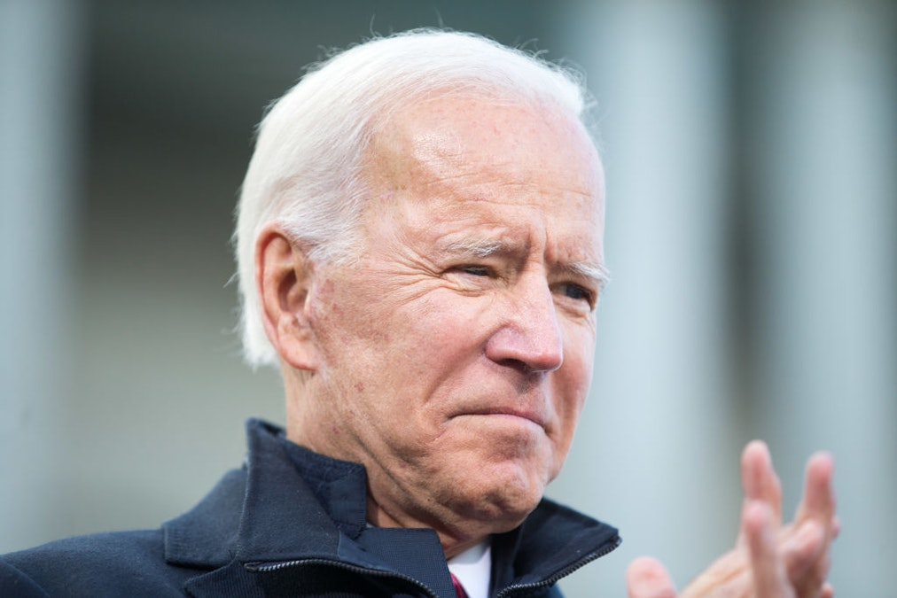2020 Democrats Pounce After Joe Biden Pushes Back On Marijuana Legalization