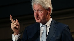 Bill Clinton, speaking at a Concern Worldwide conference in Dublin.