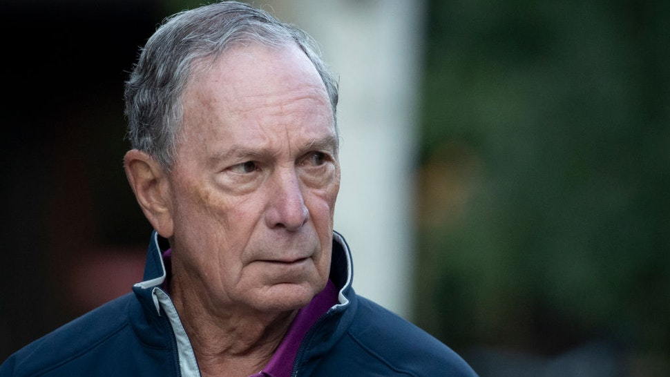 Michael Bloomberg attends the annual Allen & Company Sun Valley Conference