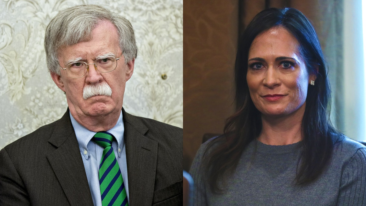 Bolton Accuses WH Of Locking His Twitter Account. Stephanie Grisham Gives Priceless Response.
