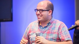 Brian Stelter attends EPIX's Deep Web Panel and Reception during the 2015 SXSW Music, Film + Interactive Festival at the W Hotel on March 16, 2015 in Austin, Texas.