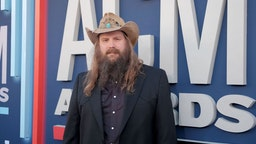 LAS VEGAS, NEVADA - APRIL 07: Chris Stapleton attends the 54th Academy Of Country Music Awards at MGM Grand Garden Arena on April 07, 2019 in Las Vegas, Nevada.