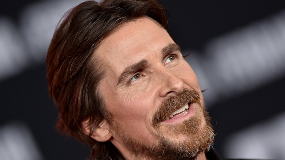 """HOLLYWOOD, CALIFORNIA - NOVEMBER 04: Christian Bale attends the Premiere of FOX's """"Ford v Ferrari"""" at TCL Chinese Theatre on November 04, 2019 in Hollywood, California."""
