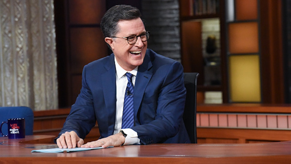 NEW YORK - OCTOBER 23: The Late Show with Stephen Colbert during Wednesday's October 23, 2019 show.