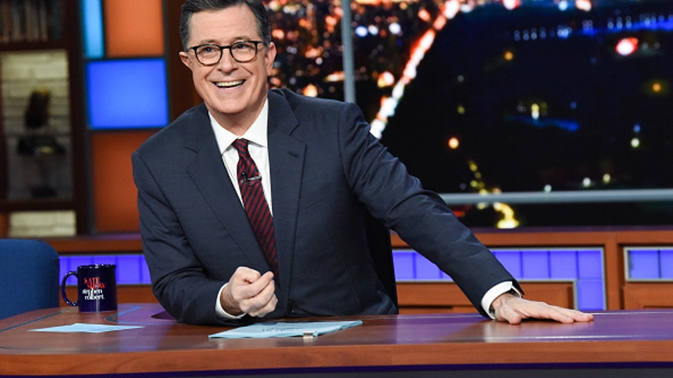NEW YORK - NOVEMBER 18: The Late Show with Stephen Colbert during Monday's November 18, 2019 show.