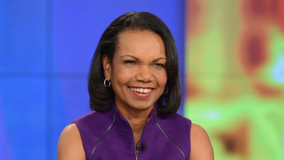 """THE VIEW - Guest co-host, Condoleezza Rice and guest, Representative Adam Schiff appeared today, Thursday, March 1, 2018 on Walt Disney Television via Getty Images's """"The View."""" """"The View"""" airs Monday-Friday (11:00 am-12:00 pm, ET) on the Walt Disney Television via Getty Images Television Network. (Photo by Lorenzo Bevilaqua/Walt Disney Television via Getty Images)"""