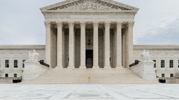 The building housing the United States Supreme Court in Washington, DC