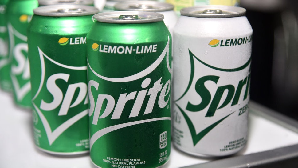Cans of Sprite seen at the 2019 BET Experience DJ Hed Presents Kicksperience Sponsored by Sprite at Los Angeles Convention Center on June 21, 2019 in Los Angeles, California.