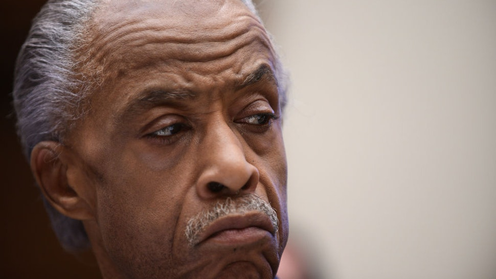 Rev. Al Sharpton attends a hearing before the House Judiciary Committee on policing practices in the United States on September 19, 2019 in Washington, DC.