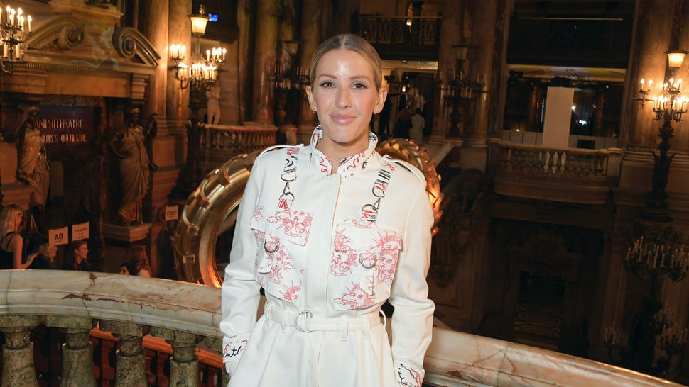 Ellie Goulding attends the Stella McCartney Womenswear Spring/Summer 2020 show as part of Paris Fashion Week on September 30, 2019 in Paris, France.