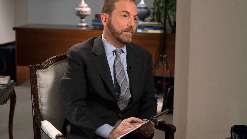 Chuck Todd interviews Iran FM Javad ZarifI in the Iran Mission to the United Nations in New York City on September 28, 2019 .