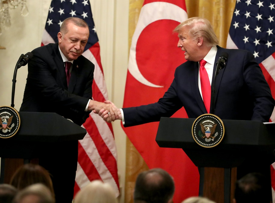 Turkey's Erdogan Says He Gave Back Warning Letter From President Trump