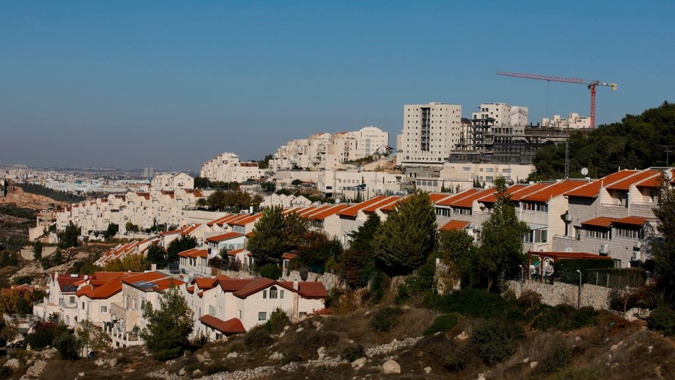 "A picture taken on November 19, 2019 shows a general view of the Israeli settlement of Efrat near the Palestinian city of Bethlehem south of Jerusalem, in the occupied West Bank. - Israeli Prime Minister Benjamin Netanyahu said a US statement deeming Israeli settlement not to be illegal ""rights a historical wrong"". But the Palestinian Authority decried the US policy shift as ""completely against international law"". Both sides were responding to an announcement by US Secretary of State Mike Pompeo on November 18 saying that Washington ""no longer considers Israeli settlements to be ""inconsistent with international law""."