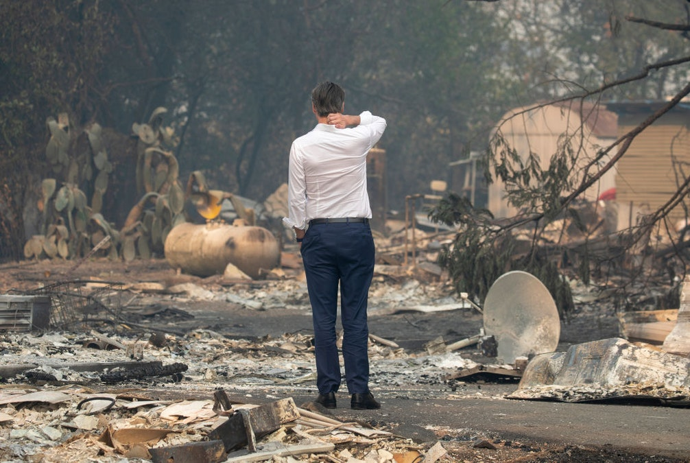 California Governor Threatens To Take Over Energy Company As Wildfires Rage
