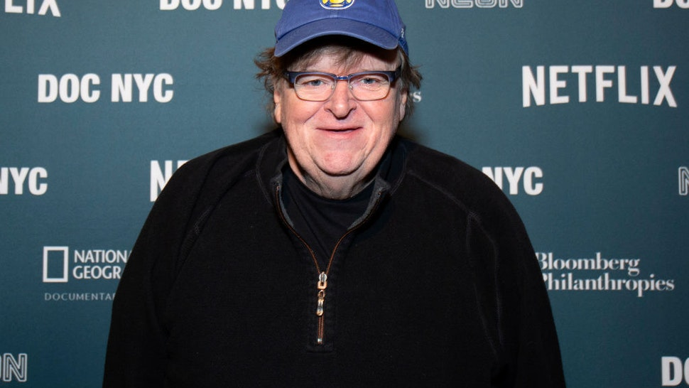 Michael Moore attends the 6th Annual DOC NYC Visionaries Tribute at Gotham Hall on November 07, 2019 in New York City.