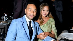 John Legend and Chrissy Teigen attend the 2019 Baby2Baby Gala presented by Paul Mitchell on November 09, 2019 in Los Angeles, California.