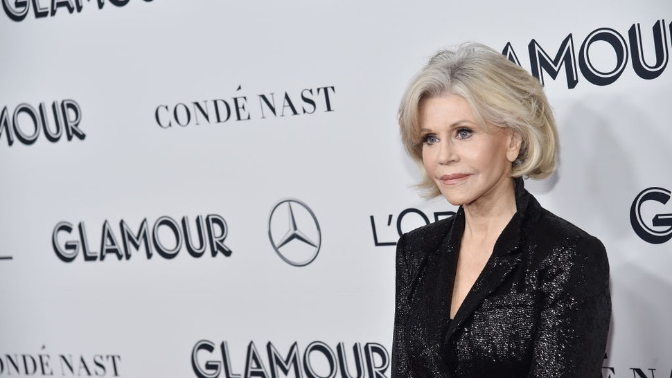 Jane Fonda attends the 2019 Glamour Women Of The Year Awards at Alice Tully Hall on November 11, 2019 in New York City.