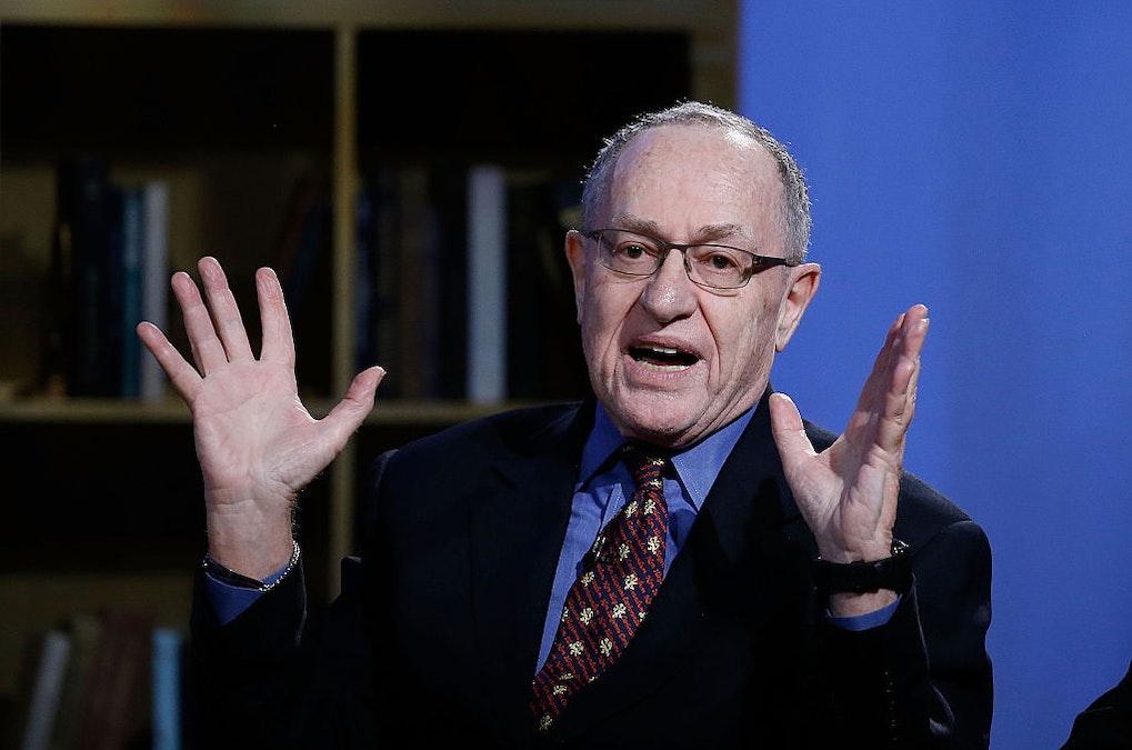 LISTEN: Liberal Democrat Dershowitz Compares Democrats To Russian Secret Police Under Stalin, Blisters CNN