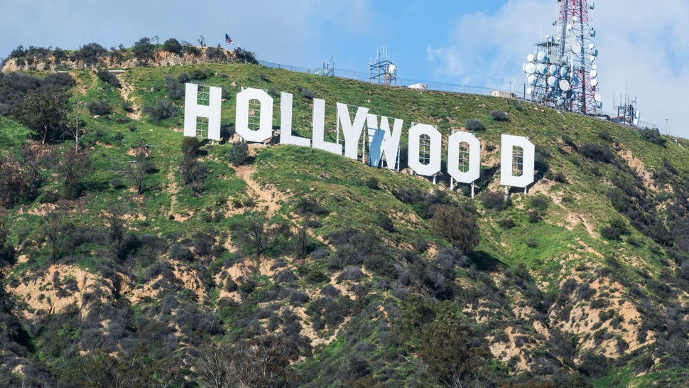 Scenes of the Hollywood sign On March 5th 2017 in Los Angeles, United States of America.
