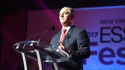 Governor John Bel Edwards speaks onstage at the 2017 ESSENCE Festival presented by Coca-Cola at Ernest N. Morial Convention Center on June 30, 2017 in New Orleans, Louisiana.