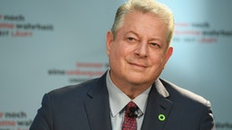 BERLIN, GERMANY - AUGUST 08: Former Vice President Al Gore attends a press conference for 'An Inconvenient Sequel: Truth to Power' at Hotel Adlon on August 8, 2017 in Berlin, Germany. (Photo by Matthias Nareyek/Getty Images for Paramount Pictures)