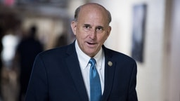 Rep. Louie Gohmert, R-Texas, leaves the House Republican Conference meeting in the Capitol on Wednesday, July 11, 2018.
