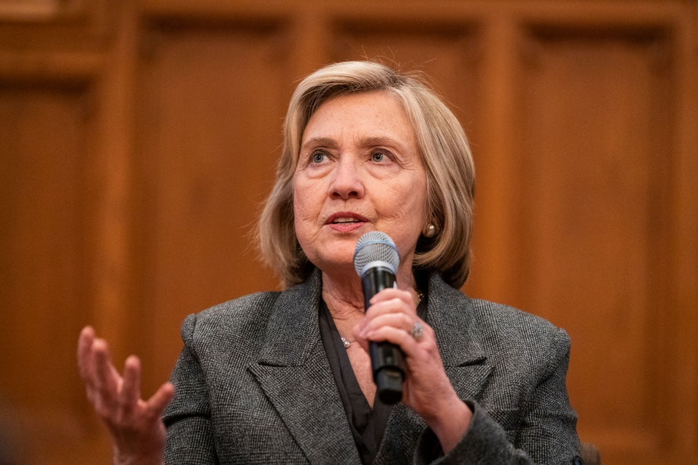 Hillary Warns: Democratic Candidate Must Be Able To Win Electoral College