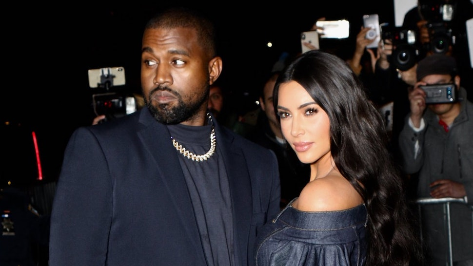 Kanye West and Kim Kardashian West are seen on November 06, 2019 in New York City. (Photo by Nancy Rivera/Bauer-Griffin/GC Images)