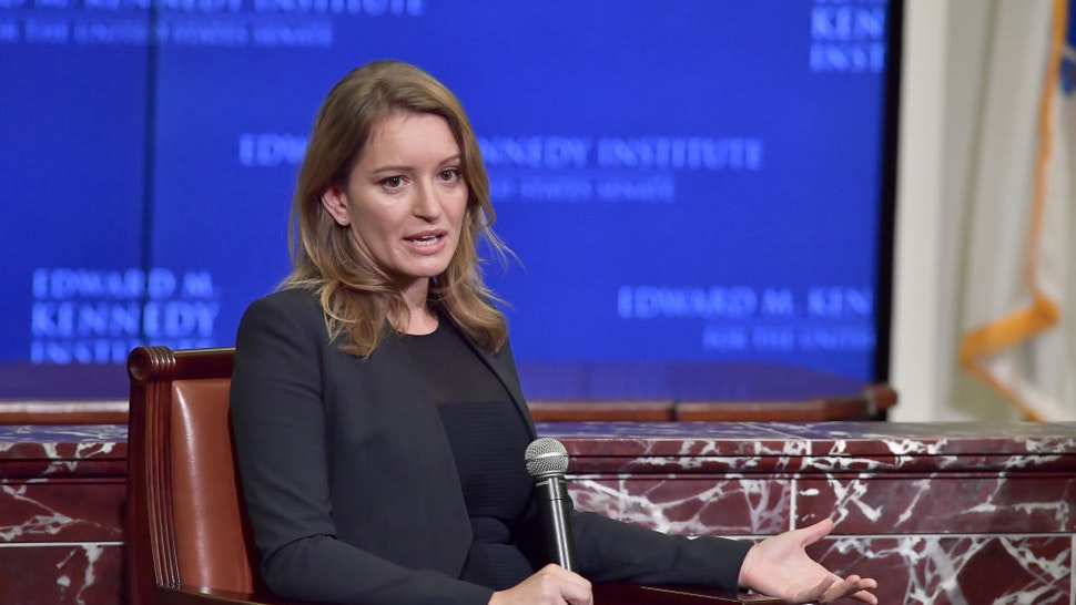 NBC News Correspondent and MSNBC Anchor Katy Tur is interviewed by NPR's Robin Young